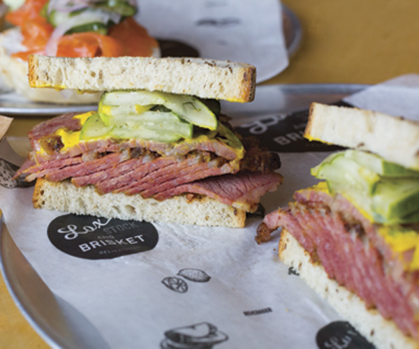 Lox, Stock And Brisket Is A Slice Above