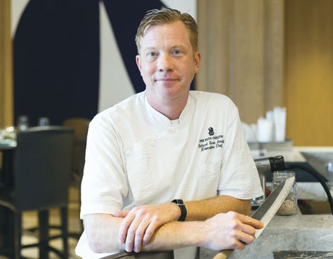 Turn Bar & Kitchen's Richard Soren Arnoldi