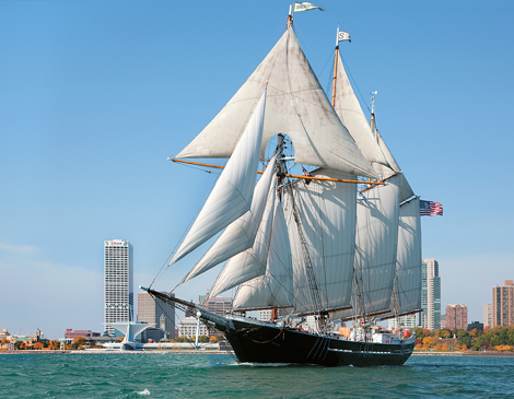 Find Your Sea Legs On These Three Tall Ships