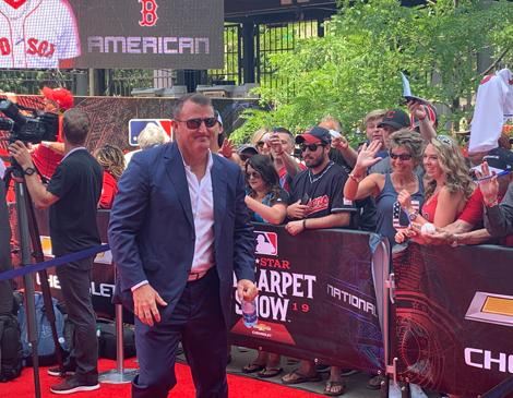 Jim Thome Red Carpet