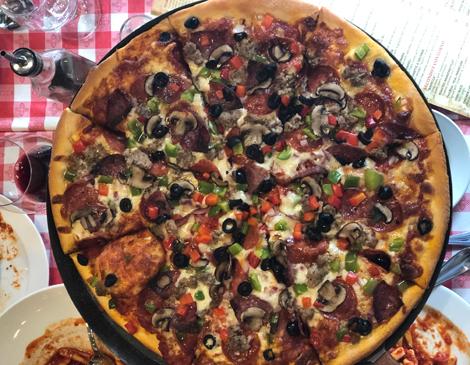 The Big Bill Pizza