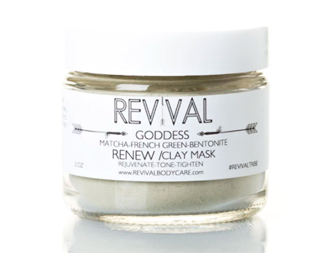 Revival Body Care's Goddess Clay Mask: Renew