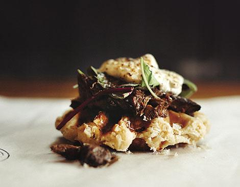 Hungry Bear Savory Waffles