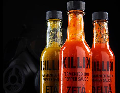 Killik Hot Sauce Co. Fermented Hot Sauce