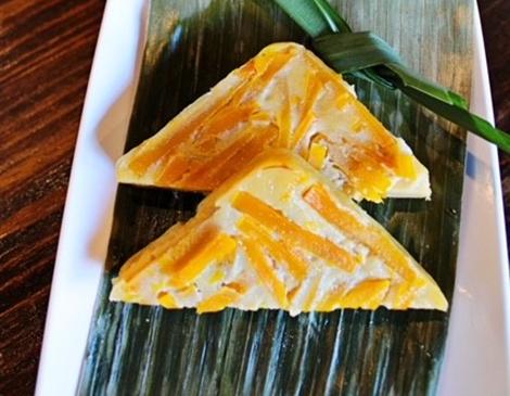 Thai Thai's Pumpkin Custard