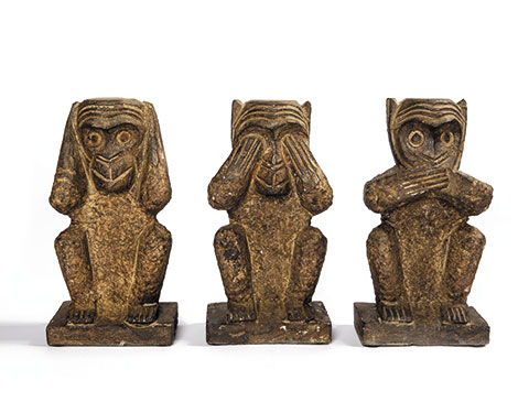Legend of Asia stone monkeys