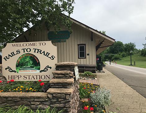 Millersburg's Rails-to-trails