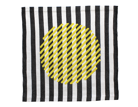 Ball Tapestry in Yellow