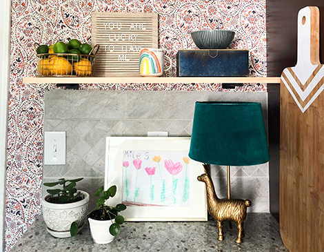 DIY Project: Add Wallpaper