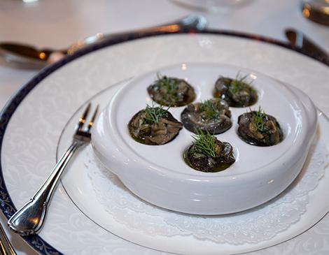 Edwins Restaurant: Escargot