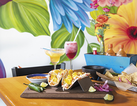 Al Pastor Pineapple Queso Tacos at La Fiesta Mexican Restaurant_Best Tacos in Cleveland