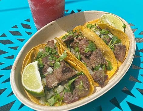 Cilantro Taqueria's Lengua Tacos