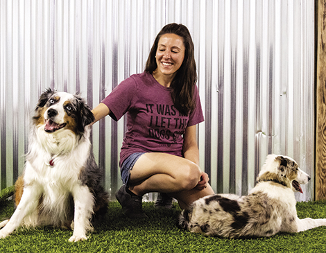Events like dog yoga or beer tastings are organized to raise funds for local shelters and encourage people to adopt.