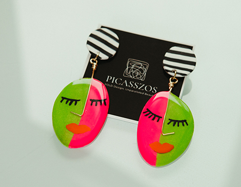 Picasszos earrings