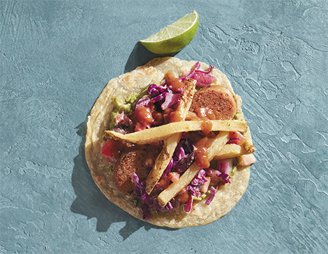 Smokin' Q's BBQ and Beer House_Polish Taco_Best Tacos to Eat in Cleveland