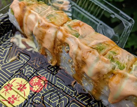Teriyaki Express' Dragon Roll