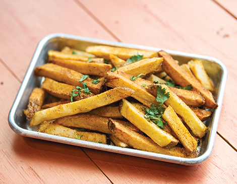 Double-Fried Spicy Fresh Frites