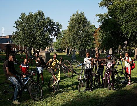 Ruddy Roye: Kids on Bicycles