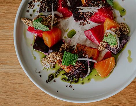 Zhug's Roasted Beet Salad