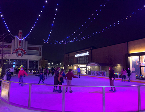 Crocker Park Skating Rink