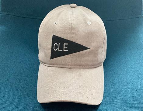 Emily Roggenburk's CLE Pennant Hat