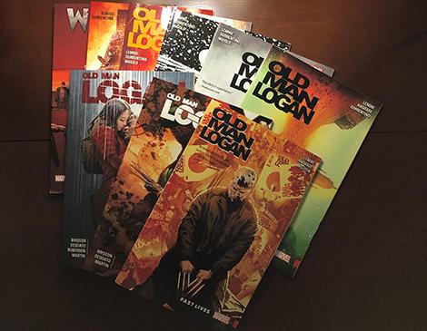 Old Man Logan comics