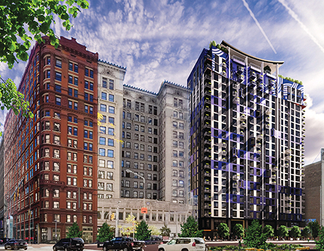 City Club Apartments, opening on Euclid Avenue in late 2022, will offer some smaller units at lower prices.