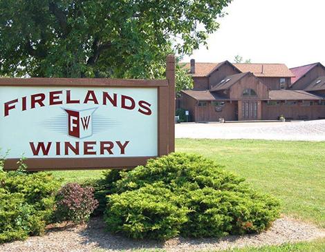 Firelands Winery in Sandusky