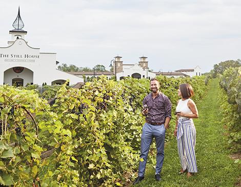 Ohio Wineries Gervasi Vineyard in Canton