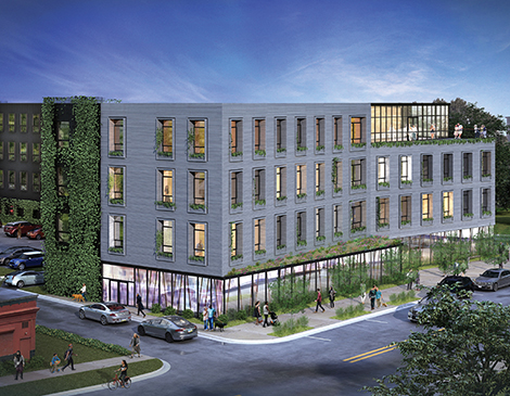 The Tappan, which opened in Tremont last June, reached 100% occupancy by August.