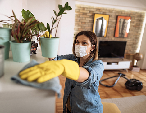 The professional organizer shares three ways to attack your home's cleaning list.