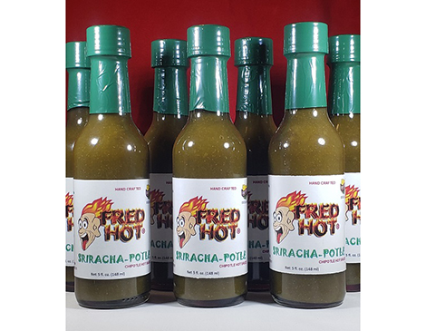 Fred Hot's Sriracha-potle