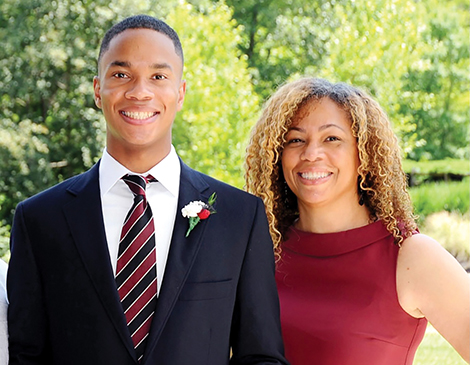 Jennifer Coleman and her son, Cole