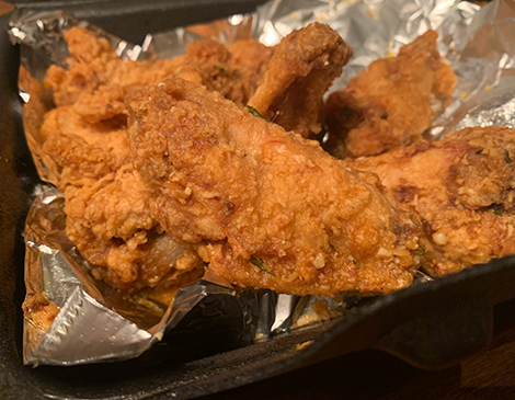 The Rush Inn's Clothed Wings