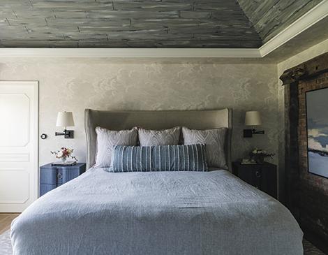 Bedroom design in Chagrin Falls