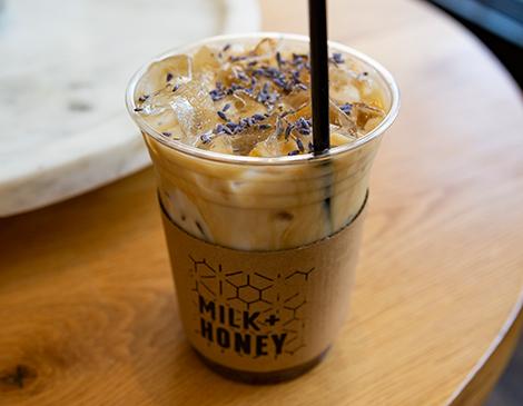Milk & Honey's Lavender Latte