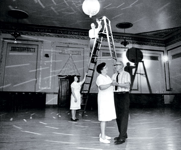 1969: A Couple Dances Under The Disco Ball Of The Slovenian Workmen's Home