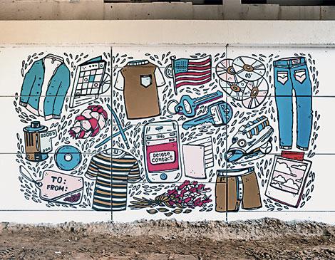 Amber Esner's Mural