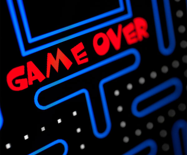 Arcade Game Over