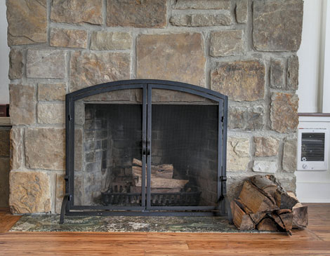 Avalon Boathouse Fireplace