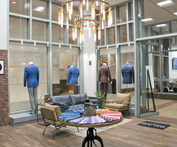 Balani Offers Custom-Fitted Suits, Tuxes, More