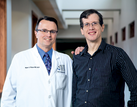 Bariatric surgery performed by Western Reserve Hospital's  Dr. Walter J. Chlysta has helped transform Steven Youngkin's life.