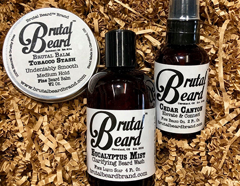 Beard Basics Gift Set from Brutal Beard