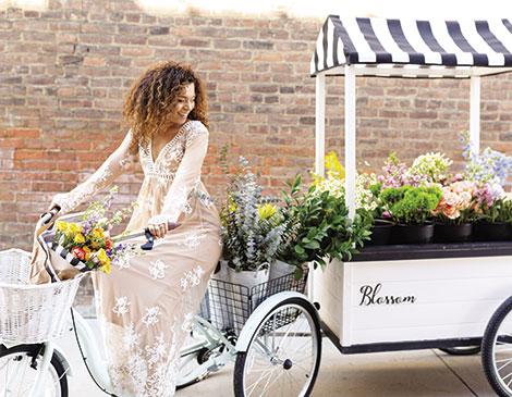 Blossom Cleveland's Flower Cart