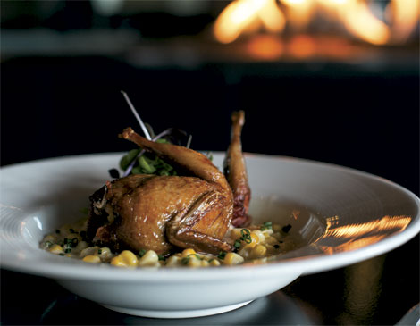 Bold Food & Drink Manchester Farms Stuffed Quail