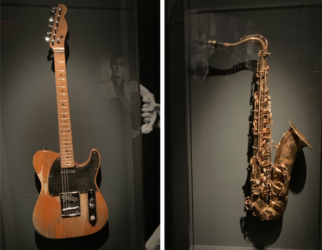 Bruce Springsteen's Telecaster, Clarence Clemons Saxophone