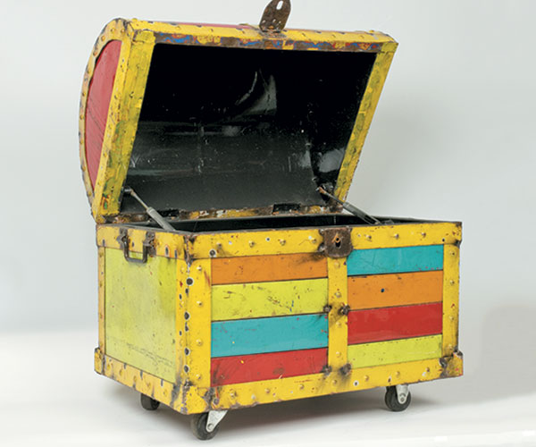 Buried Treasure Chest Cooler