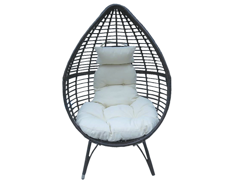 Catlyn Teardrop Wicker Lounge Chair