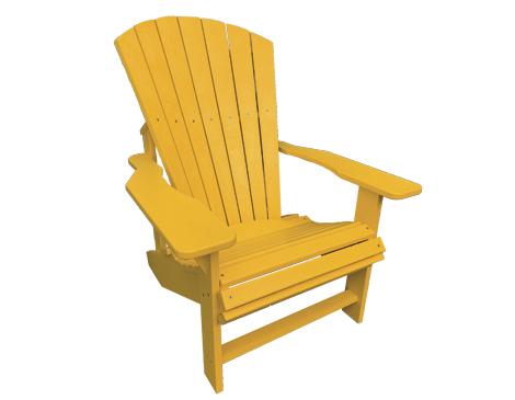 Classic Yellow Adirondack