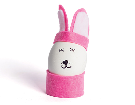 Costume bunny egg